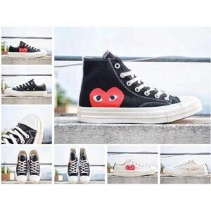 2018 Sapatos Originais Para Mulheres Dos Homens Tênis Em Execução Low High Top Skate Grande Olho Moda Casual Frete Grátis36-44