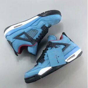 2018 4 s Travis x Houston homens tênis de basquete com box 4 s sneaker trainer top quality frete grátis