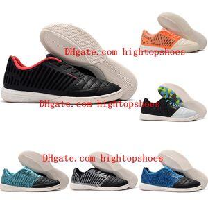 2019 chuteiras de futebol dos homens Lunar Gato II IC sapatos de futebol de salão MD botas de futebol de pele de couro Tacos de futbol
