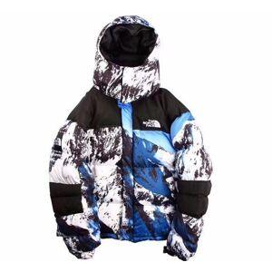 Esportes ao ar livre do norte da montanha de neve com capuz para baixo casaco camuflagem casal modelos XL além de veludo jaqueta moda roupas de alta