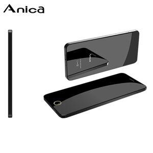 "Anica Telefone Super Mini Cartão Ultrafino De Luxo Bluetooth Chamadas 1.63 ""Dustproof À Prova de Choque À Prova de Choque Anti-Perdido FM GSM Musi"