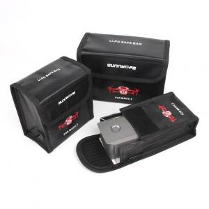 Lipo bateria seguro saco à prova de explosão caso capa para DJI MAVIC 2 Pro zangão