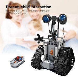 Winner 7112 2.4G controle remoto inteligente Electric RC Robot Building Block DIY Unassembled Kit Toy For Kids presente