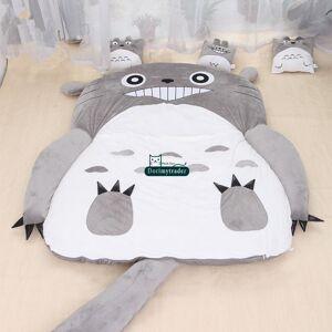 Dorimytrader Hot Japão Anime Totoro Sleeping Bag Capa Big pelúcia macia Tapete colchão da cama Sofá Tatami presente sem DY61067 algodão