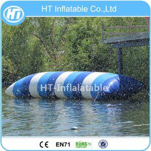 Frete Grátis Louco 5X2 M Água Inflável Blob Catapulta Esporte de Água Brinquedo Inflável Jumping Pillow Floating Blob Água Para Adultos