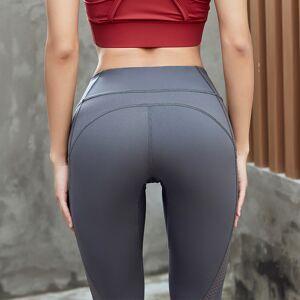 Yoga Pants Leggings Mesh Tights Custom Workout Joggers Pants Womens Sports Leggings