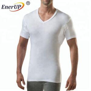 White men lenzing modal armpit padded anti sweat proof shirt