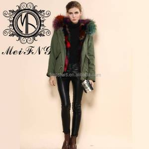 Fashion Women's European Style Winter Personalized Coat woman coats and jackets