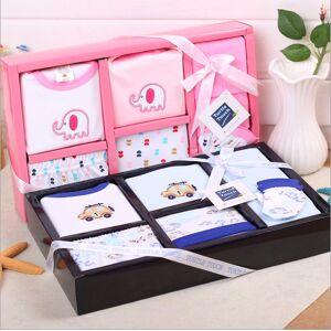 L0007 Baby gift set newborn gift box baby gift set of eight-piece autumn cotton