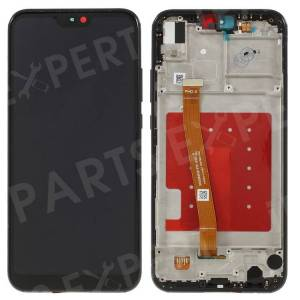 LCD Screen and Digitizer Assembly + Frame Replacement for Huawei P20 Lite (2018)/nova 3e - Black