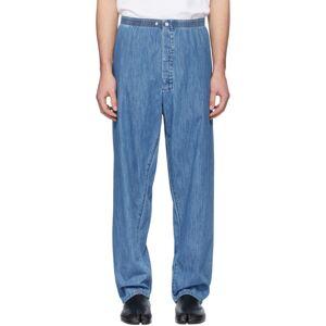 Maison Margiela Blue Denim Pyjama Jeans