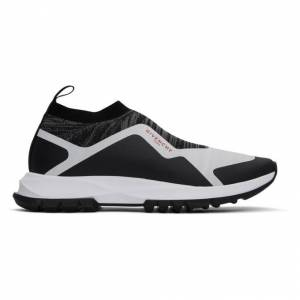 Givenchy Black and White Spectre Runner Sock Low Sneakers