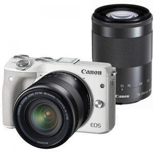 Canon EOS M3 kit (18-55)(55-200) White (Jap)