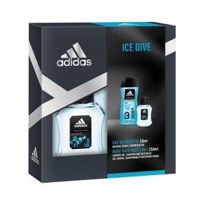 Coffret Adidas Ice Dive 250+50ml