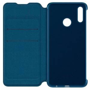 Huawei Capa Original Huawei P Smart (2019) / Honor 10 Lite Flip Cover Azul