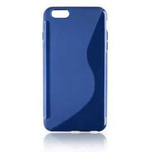 CAPA TRASEIRA IPHONE 6 PLUS AZUL