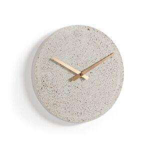 Relógio de parede Alexia Ø 27 cm bege