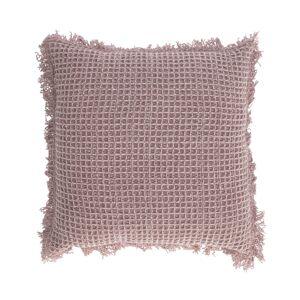 Capa de almofada Shallow 45 x 45 cm rosa