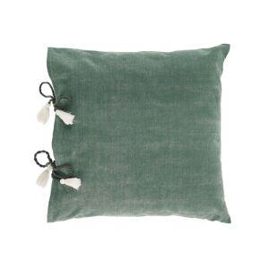 Capa almofada Varina 100% algodão verde 45 x 45 cm