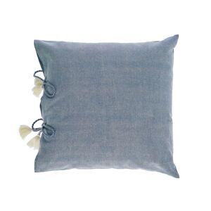 Capa almofada Varina 100% algodão cinza 45 x 45 cm