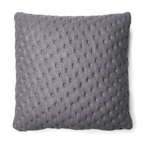 Capa de almofada acolchoada , en Tecido - Cinzento