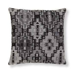 Capa para almofada Nazca 45 x 45 cm cinzento escuro
