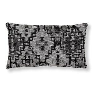 Capa de almofada Nazca 30 x 50 cm cinzento escuro