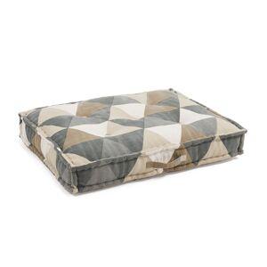Almofada de chão Biscayne triângulos