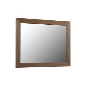 Kave Home Espelho Nerina 47 x 57,5 cm com acabamento nogueira