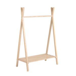 Cabide tipi Maralis madeira maciça de freixo 148 x 50 cm