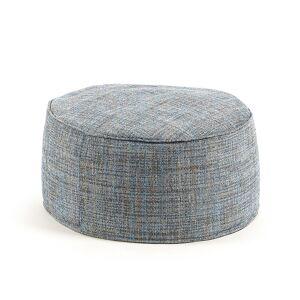 Pufe Boho Ø 60 cm azul  , en Tecido - Azul