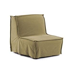 Sofá-cama Lyanna 90 cm marró