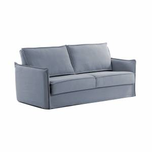 Sofá-cama Samsa 140 cm viscoelástico azul