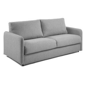 Sofá-cama Kymoon 160 cm viscoelástico cinza claro