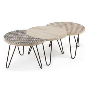 Conjunto de 3 mesas Houp 134 x 39,5 cm