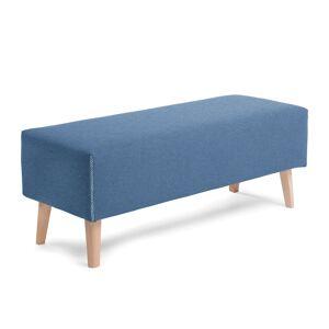 Banqueta Dyla azul 111 cm