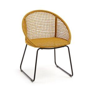 Cadeira Sandrine mostarda