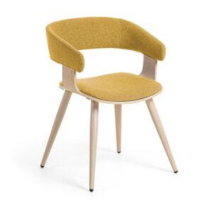 Cadeira Heiman mostarda