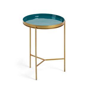 Mesa de apoio Naoko Ø 31 cm verde