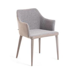 Cadeira Croft cinza clara