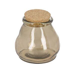 Frasco Rohan grande de vidro castanho 100% reciclado