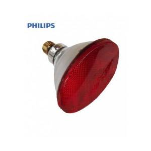 Philips Lâmpada PAR de  infravermelho 100W E-27 Red (Therapeutic) Philips