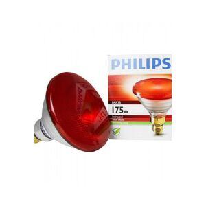 Philips 175W 230V ES / E27 PAR38 LÂMPADA DE CALOR DE RUBI INFRAVERMELHO R125