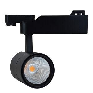 Projetor LED de calha monofásica 25W Chip COB Driver PHILIPS 45 °