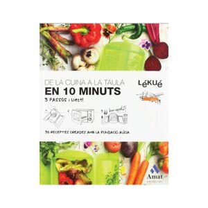 LEKUE Livro De Receitas Da Cozinha À Mesa Em 10 Minutos - Catalão - Lekue