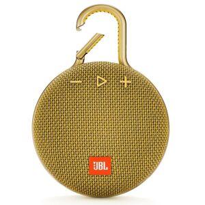 JBL Coluna Portátil JBL CLIP 3 Bluetooth 3W à prova de água 10h Autonomia Amarelo