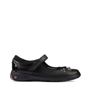 clarks Kids Shoes and Boots - Sea Shimmer K Black leather