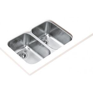 Lava-louças BE 765 com duas cubas aço Teka