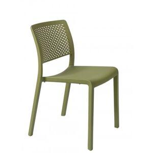 Resol - Conjunto de 2 cadeiras verde azeitona TRAMA - RESOL