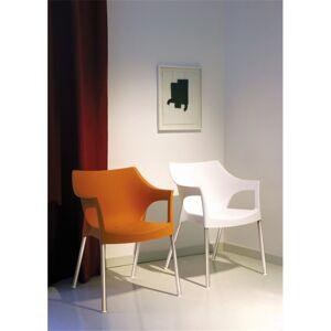 Resol Conjunto de 2 cadeiras cor de chocolate POLE - RESOL